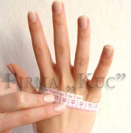 rozmiar dłoni